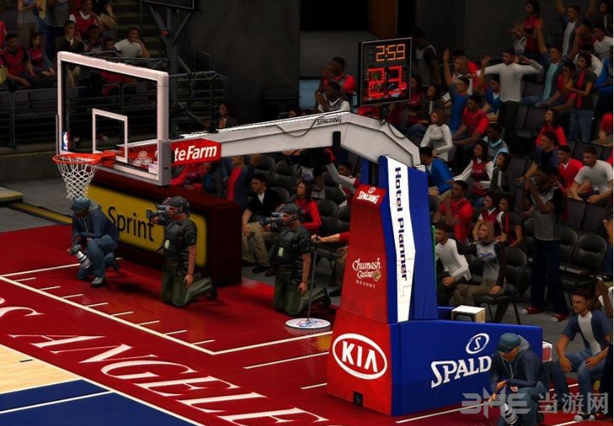 nba2k13最新10支球队篮球架真实补丁