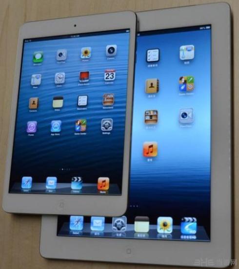 ipad mini 与ipad对比图
