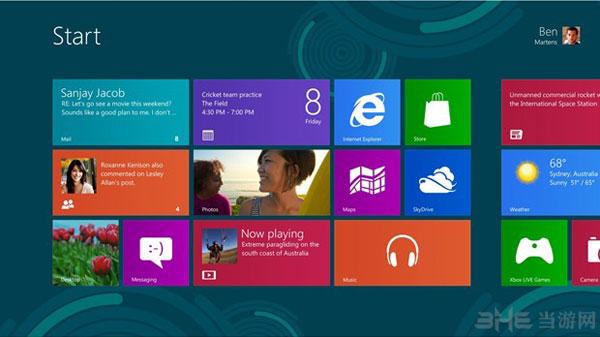 微软新发布WIN8系统截图