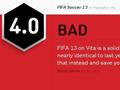 FIFA13psv惨遭IGN4.3超低分 被指责为新瓶老酒