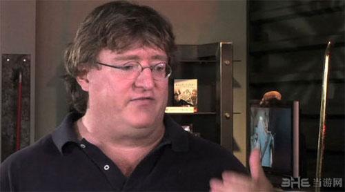 Valve掌门人Gabe Newell