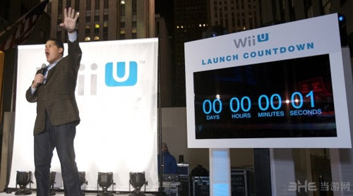 任天堂美国总裁Reggie Fils-Aime亲自主持了Wii U美版的首发仪式