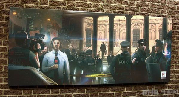 SE蒙特利尔官网公布了一张疑似《杀手6》的艺术图