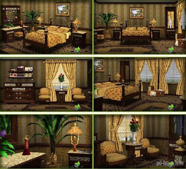 模拟人生3四季八套华丽风格收费家具MOD截图0