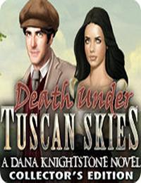丹娜・金士顿小说:托斯卡纳天空下的死亡故事