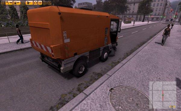洗街车模拟截图3