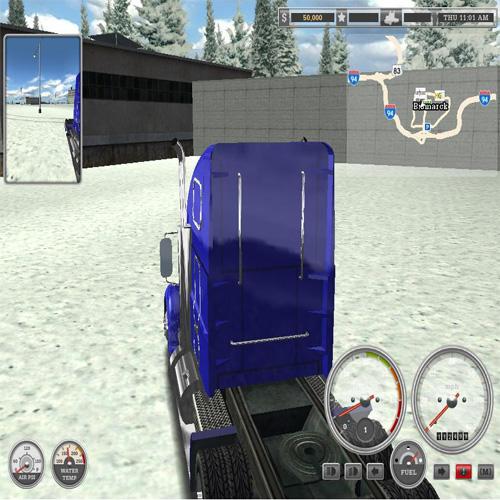 18轮大卡车搬运能手截图2
