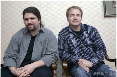 使命召唤6开发工作室I组创始人Jason West与Vince Zampella