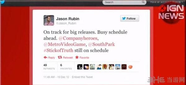 THQ总裁Jason RubinJason Rubin