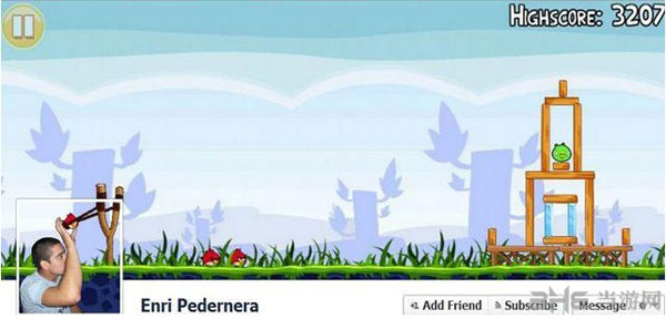 Facebook上外国童鞋的惊人创意封面