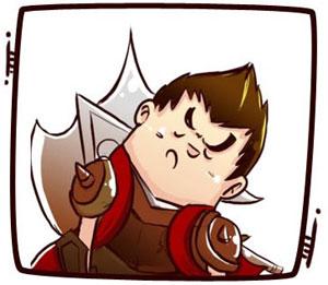 lol歪脖子头像 卡通版联盟英雄们也来卖萌歪脖