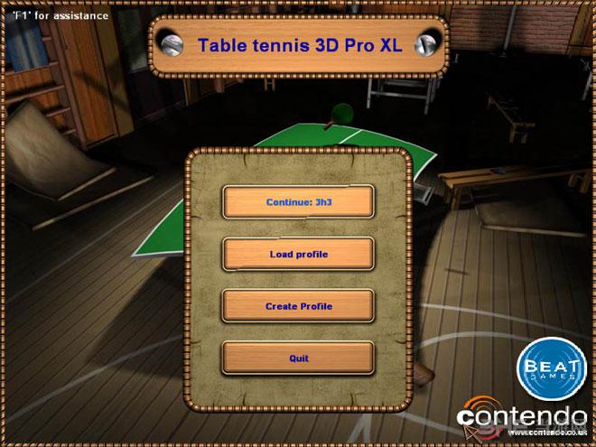 3D乒乓球