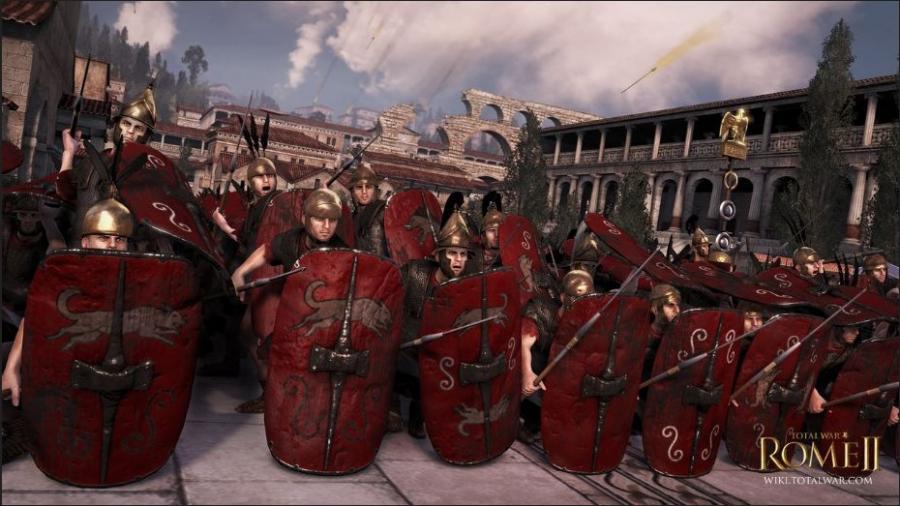 罗马2全面战争最新经典截图欣赏