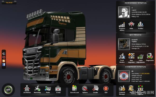 欧洲卡车模拟2完美存档截图1