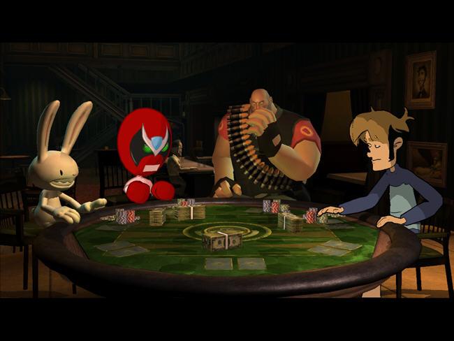 怪诞扑克夜