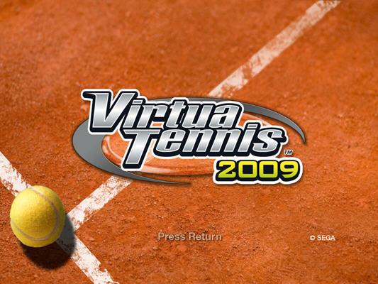 VR网球2009截图1