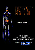 蝙蝠侠FC游戏硬盘版