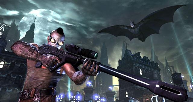 蝙蝠侠阿甘之城截图1
