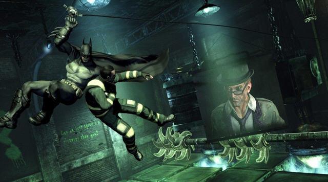 蝙蝠侠阿甘之城截图6