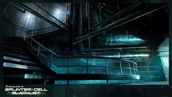 《细胞分裂6》育碧官方公布的概念原图