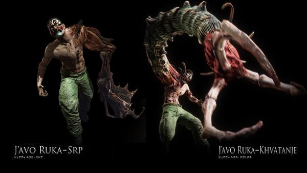 生化危机6官方最新怪物介绍曝光 8种人性怪物
