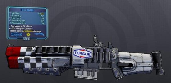 《无主之地2》枪械前瞻 各种霸气枪炮随意挑