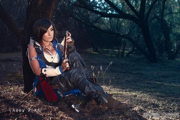 美国着名coser杰西卡·尼格利女版康纳cosplay