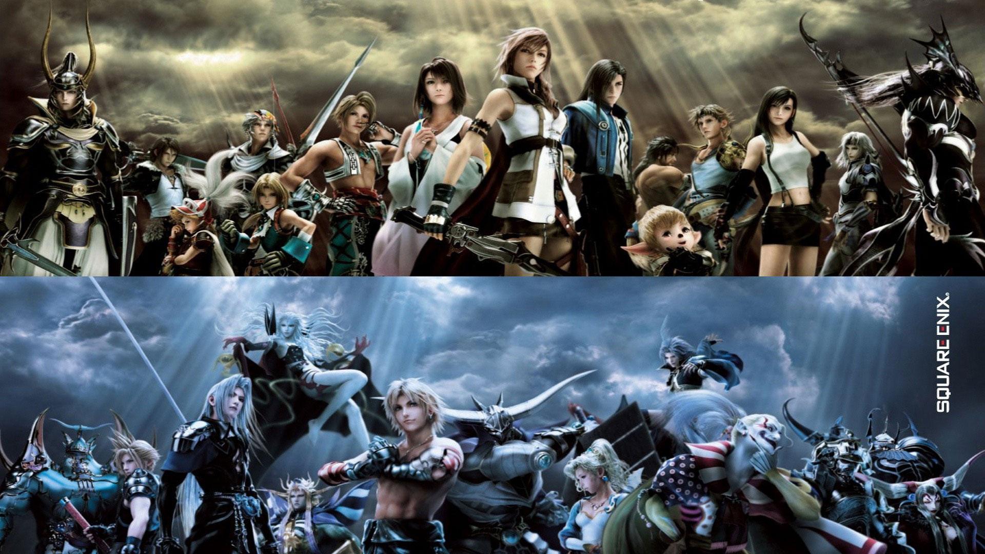 最终幻想纷争2中文版 最终幻想纷争pc版 最终幻想纷争