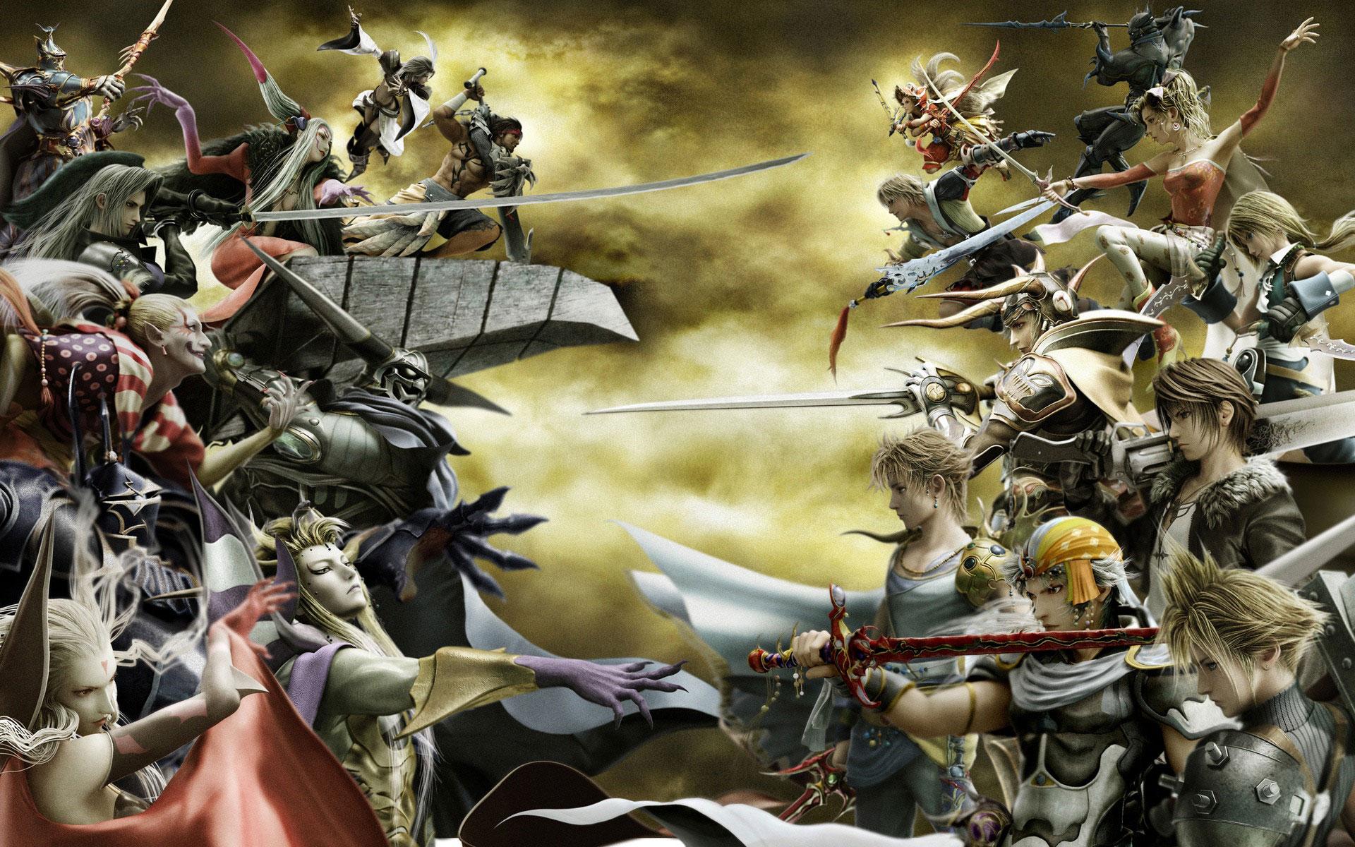 最终幻想15超清壁纸 最终幻想1080p壁纸 最终幻想7超清壁纸