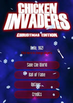 小鸡入侵者3圣诞版(Chicken Invaders 3 Christmas Edition)硬盘版