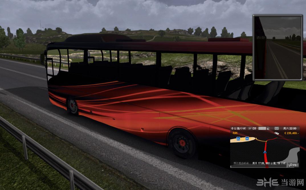 欧洲卡车模拟2大巴MOD截图0