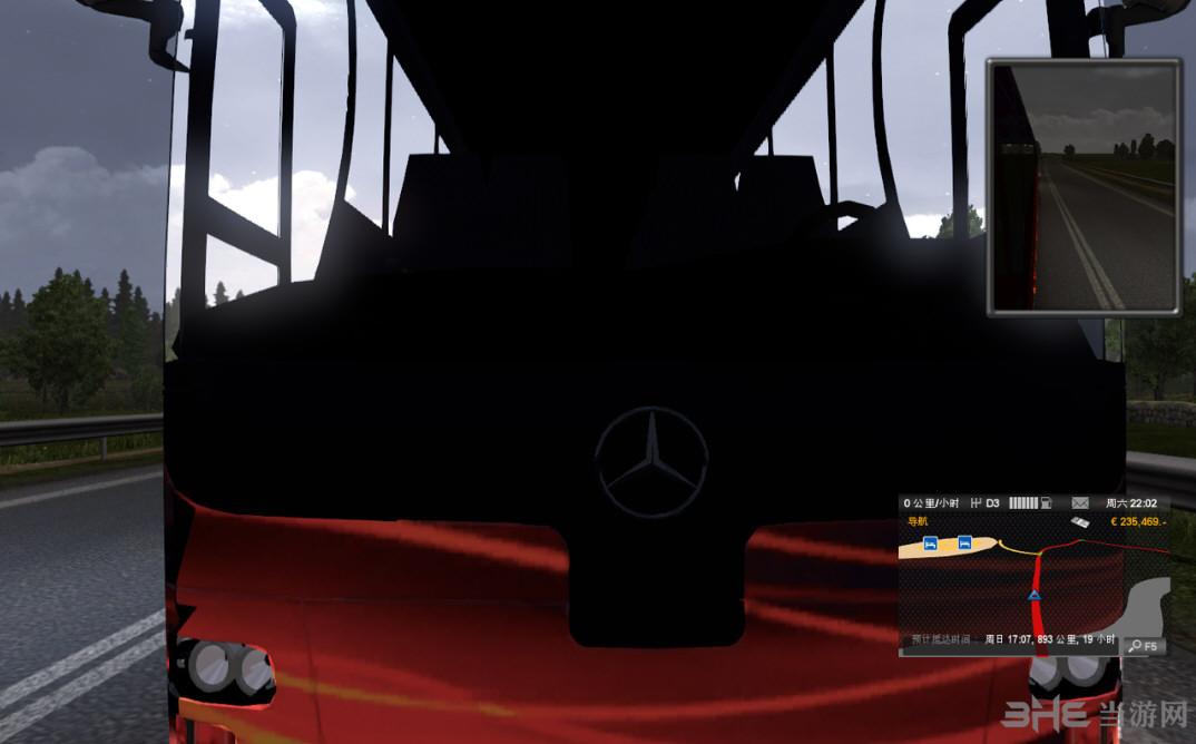 欧洲卡车模拟2大巴MOD截图1