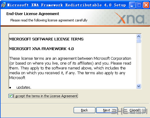 microsoft xna framework redistributable 4.0 官方版