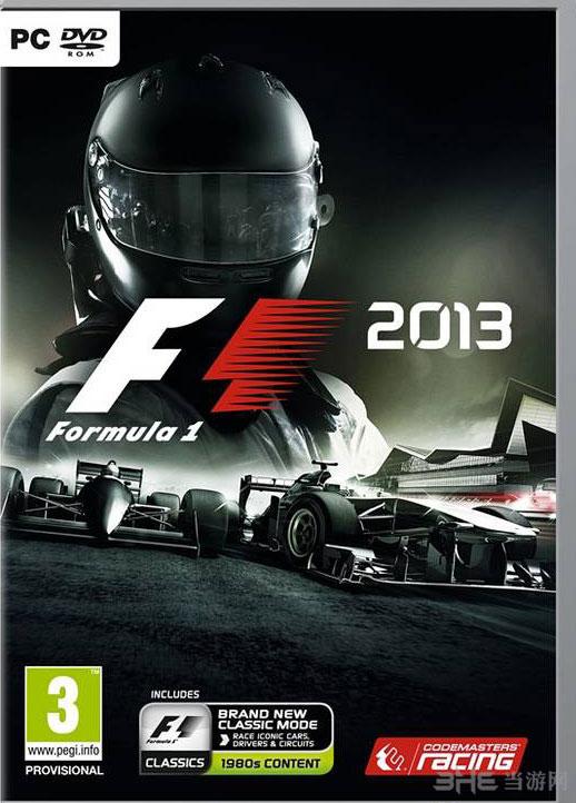 F1 2013游戏封面