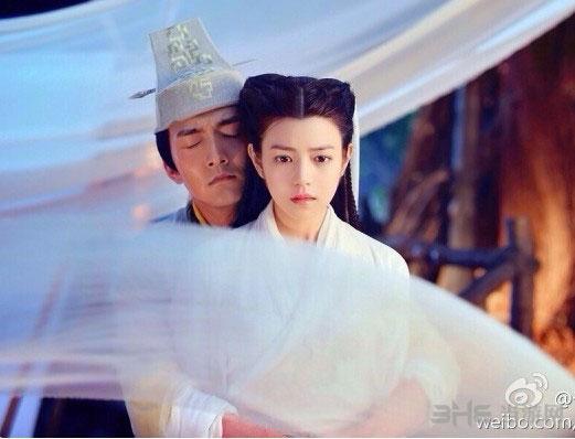 于正微博晒新版《神雕侠侣》杨过陈晓和小龙女陈妍希