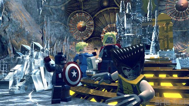 乐高漫威超级英雄游戏截图2