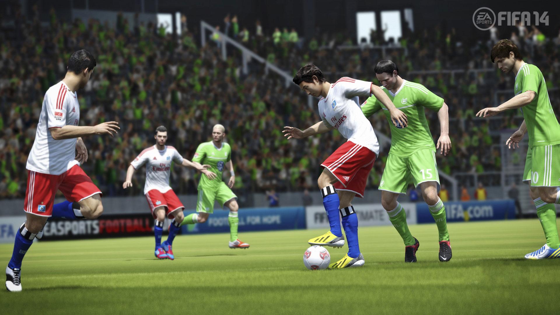 FIFA14高清桌面壁纸发放