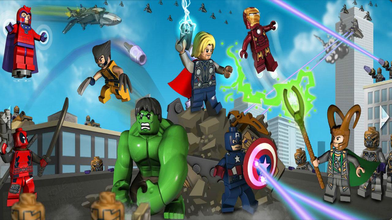 乐高漫威超级英雄高清游戏壁纸