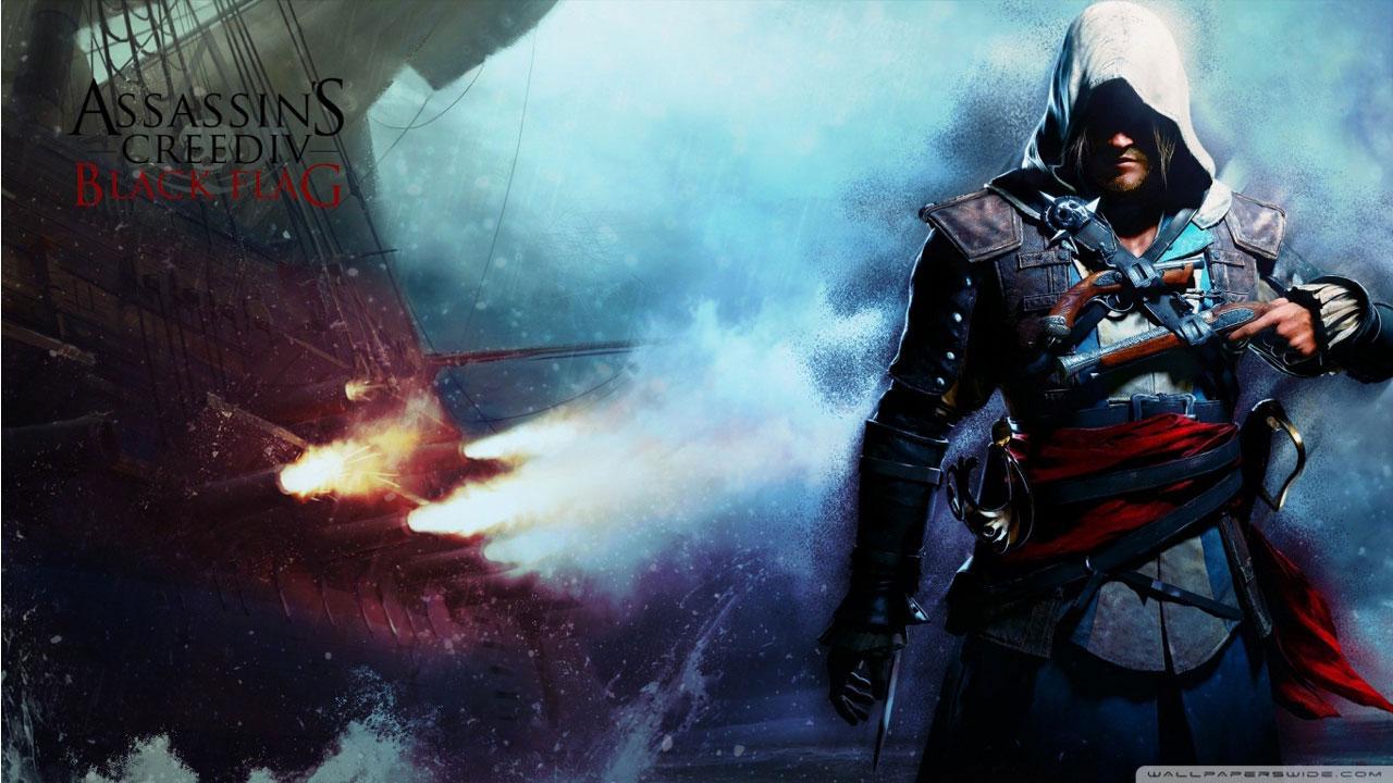 刺客信条4黑旗高清壁纸 最新高清游戏壁纸