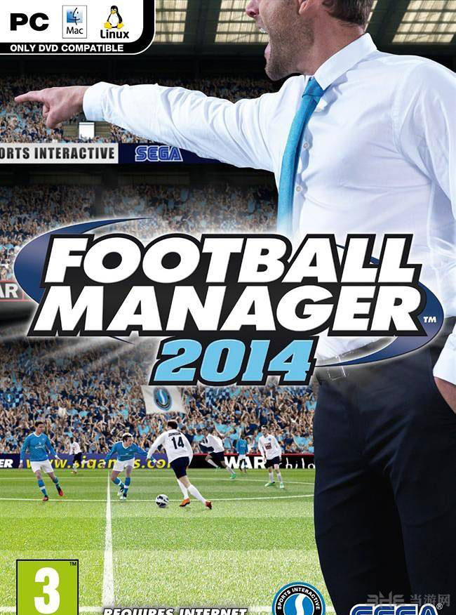 足球经理2014游戏封面