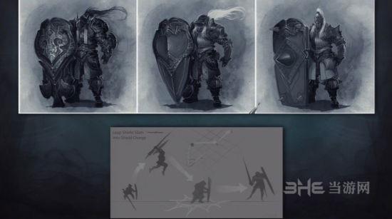 暗黑破坏神3 夺魂之镰前瞻圣教军人设图2