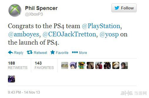 索尼PS4上市成功 竞争对手微软发来贺电3