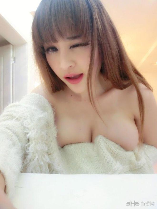 苏夏妞妞大尺度爆乳私房照1
