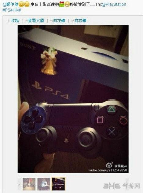 众明星网晒PS4 郑伊健