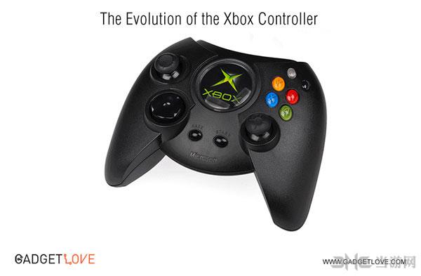 微软Xbox手柄进化过程