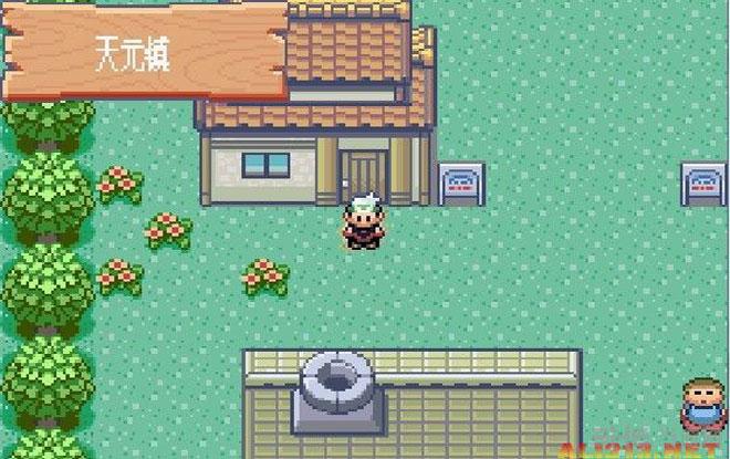 【游戏介绍】   口袋妖怪绿宝石是一款来自GBA平台的RPG游戏,这款绿宝石是继口袋妖怪红蓝宝石之后的又一最新力作,该部作品增加了更多的场景与妖怪,并可以与之前的作品共同进行联机对战和做交易。   游戏的剧情是以红蓝宝石的故事为基础而发展出的新剧情,玩家最终的敌人也变成了红蓝宝石两大邪恶实力的联合团。而游戏的开始总是会重复着那个经典的镜头,玩家的角色进入到博士的实验室并发现了一只精灵球,然后突然有一只小精灵出现的面前,便进入了战斗,就这样玩家得到了一只潜力相当强的精灵,从而开始成为世界冠军的冒险。这款游戏