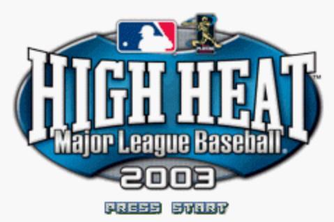 火热职业棒球联赛2003截图0