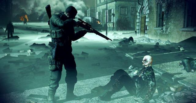 狙击精英纳粹僵尸部队截图2