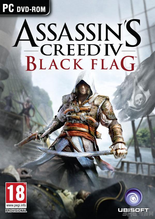 《刺客信条4黑色旗帜》PC版游戏封面