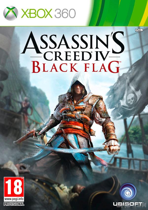 《刺客信条4黑色旗帜》Xbox 360版游戏封面